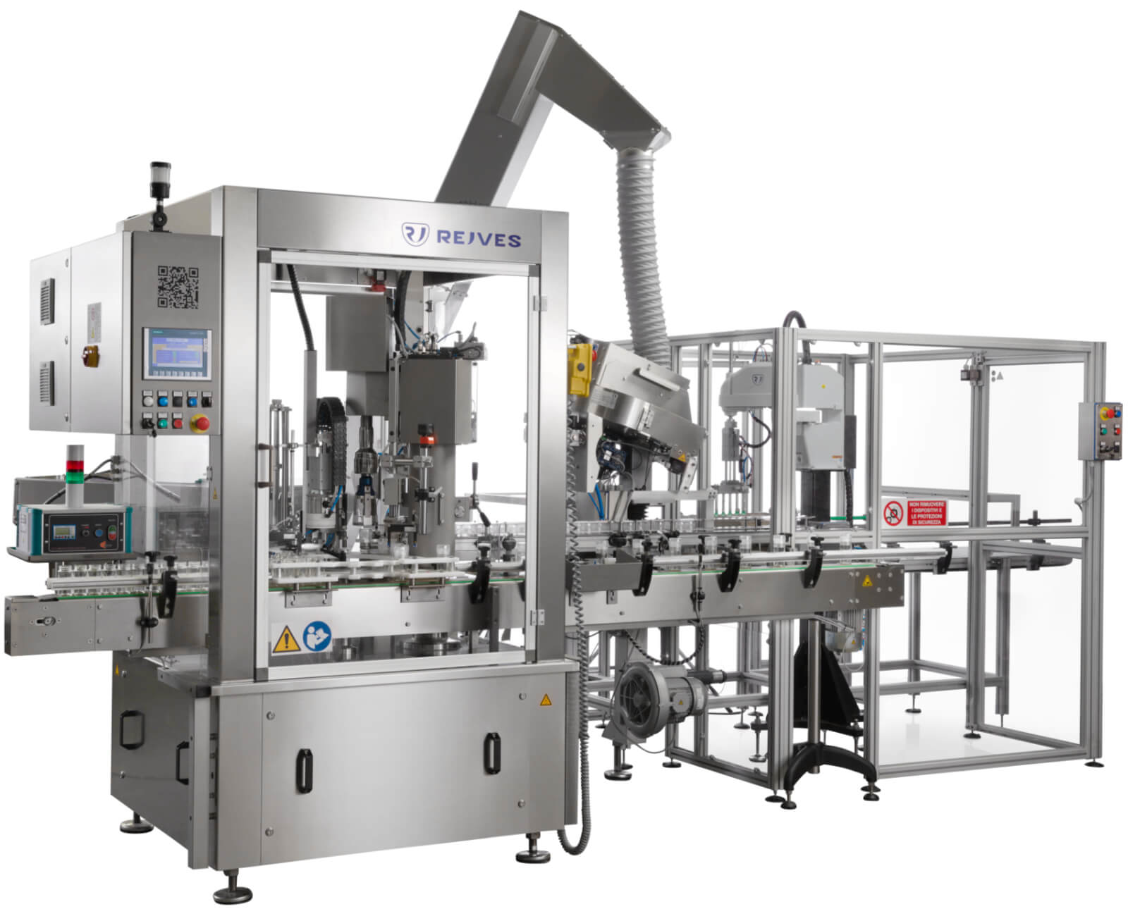 rejves machinery capping machine
